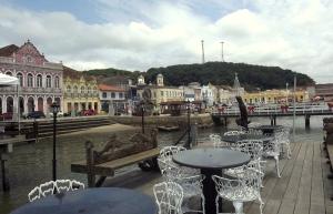 """vista do centro histórico - rest """"portela"""""""