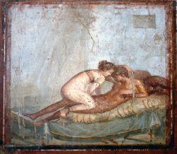 afresco - Pompeia, Italia