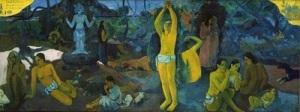 paul gauguin, quem somos de onde viemos pra onde vamos